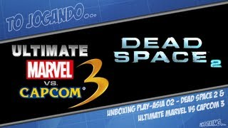 Unboxing Play-Asia 02 - Dead Space 2 & Ultimate Marvel vs Capcom 3