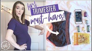 FIRST TRIMESTER MUST-HAVES + ESSENTIALS | Pregnancy Favorites Series  | Natalie Bennett