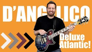 D'Angelico Deluxe Atlantic - The Perfect Single Cut Guitar!