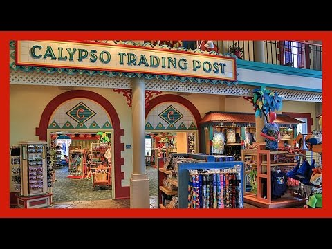 CALYPSO TRADING POST AT DISNEY'S CARIBBEAN BEACH RESORT