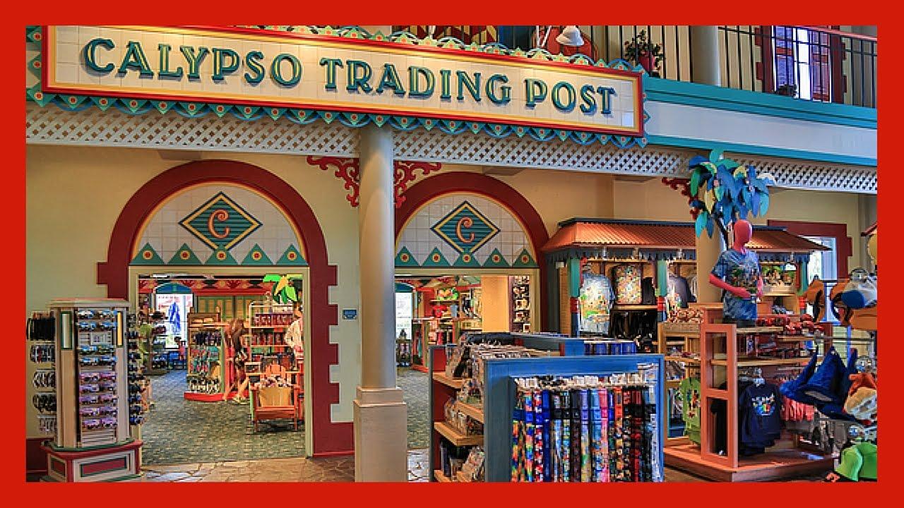 Calypso Trading Post At Disney S Caribbean Beach Resort