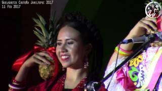 San Juan Bautista Tuxtepec Flor de Piña  en la Guelaguetza Costeña Jamiltepec 2017