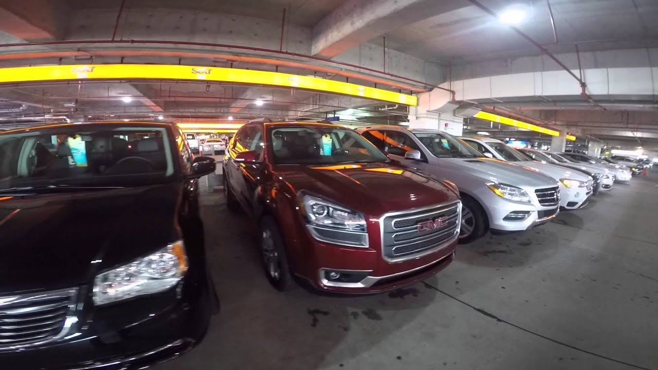 Garagem Da Sixt No Aeroporto De Miami Youtube