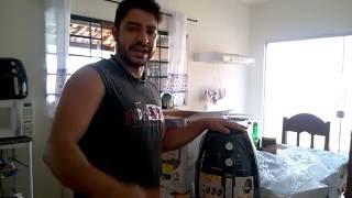 Fritadeira sem óleo Air Fryer AF 05 Mondial Unboxing