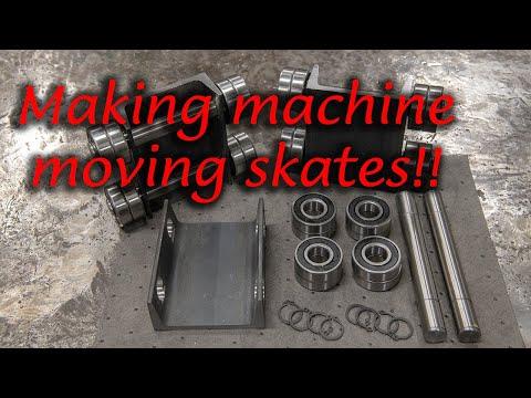 Making Machine Moving Skates