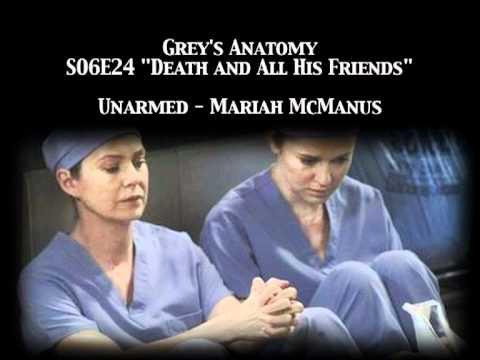 Grey's Anatomy S06E24 - Unarmed by Mariah McManus