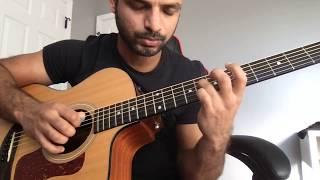 #AlaVaikunthapurramuloo - Sittharala Sirapadu guitar solo || Allu Arjun || Trivikram | Thaman S |