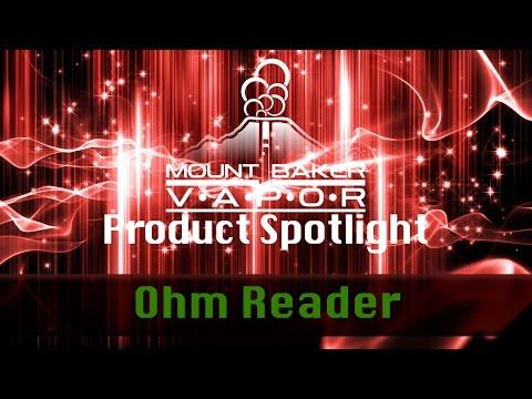 Vapor Product Spotlight - E-Cigarette Coil Ohm Reader