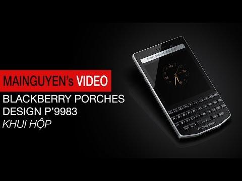 Khui hộp BlackBerry Porsche Design P'9983 - www.mainguyen.vn