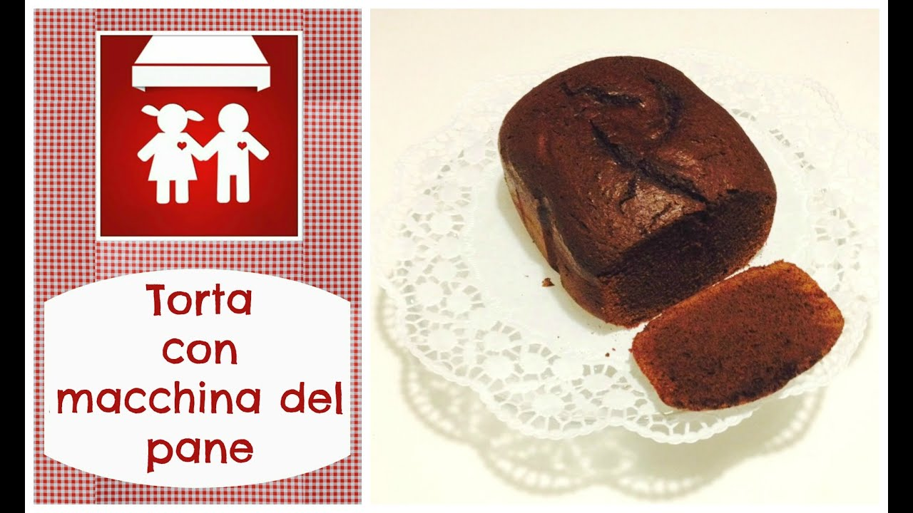 Ricetta Torta Di Mele Macchina Del Pane Kenwood.Torta Al Cioccolato Con Macchina Del Pane Dolci 2c K Youtube