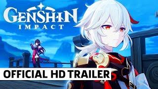 Genshin Impact Kaedehara Kazuha Character Teaser Trailer