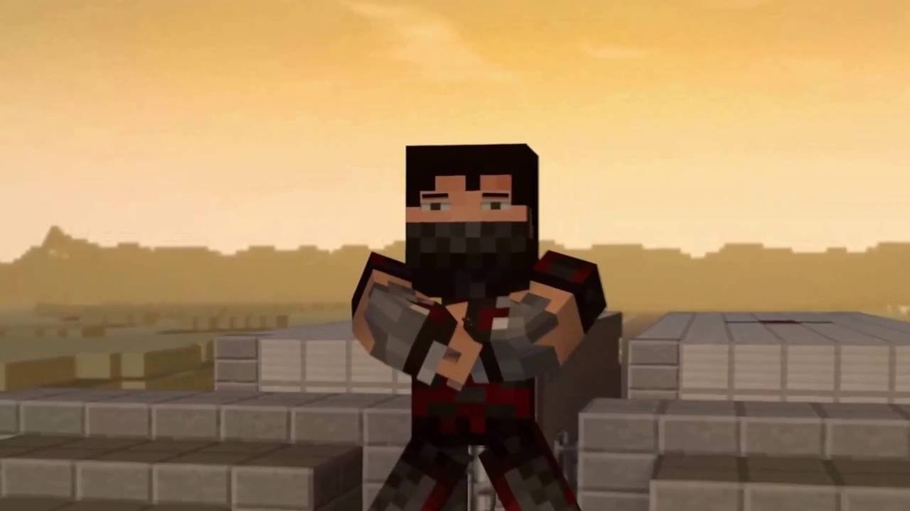 Minecraft Stunt/Minecraft Animation