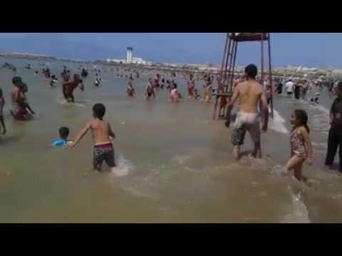 Rafik à la plage de salè