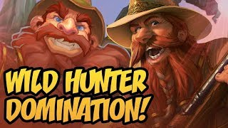 Wild Hunter Domination! | Saviors of Uldum | Hearthstone