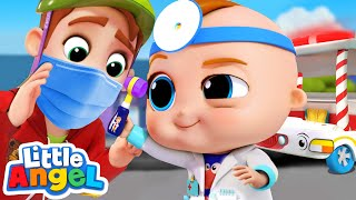 Dr Baby John CheckUp | Nursery Rhymes and Kid Songs by Little Angel