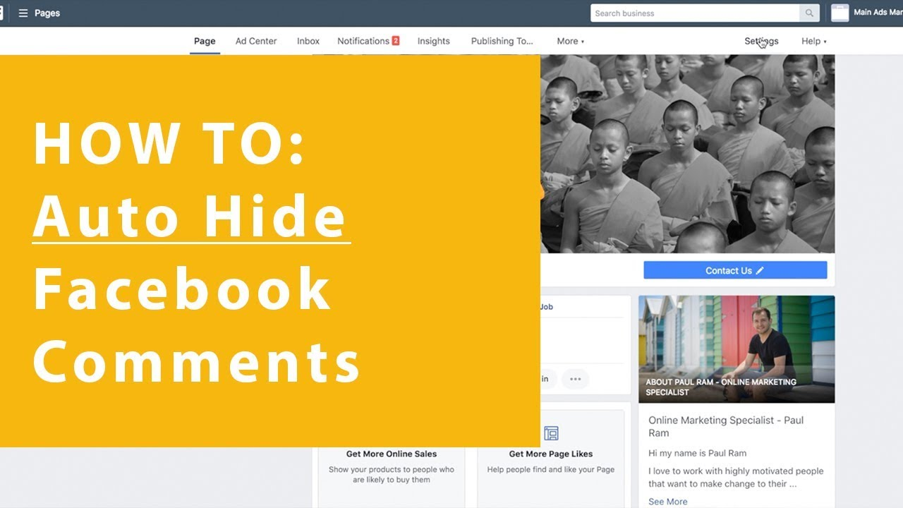 How to auto hide Facebook comments - Easy Facebook trick to save time!