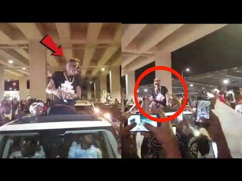WOW- SHATTA WALE FINALLY LANDS IN GHANA AFTER SUCCESSFUL EUROPE TOUR
