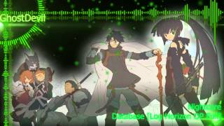 Repeat youtube video Nightcore - Database [Log Horizon OP Full]