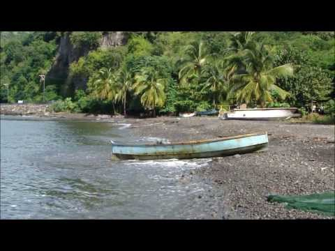 Pulling a Fish Net from Shore - West Coast Dominica