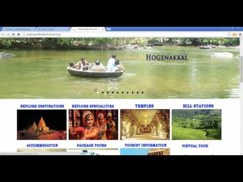 Online Tourism management system