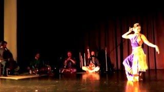 Classical dance from bharathanatiyam