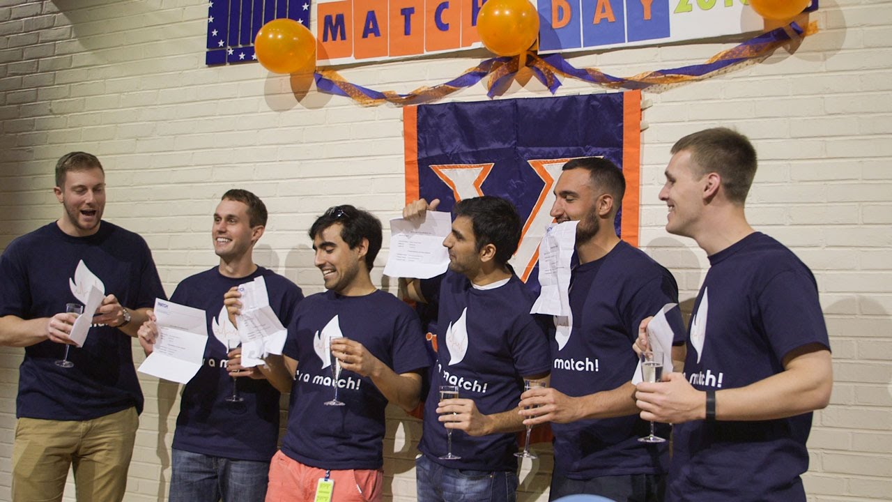 Match Day 2016 - UVA, School of Medicine: 100%Match