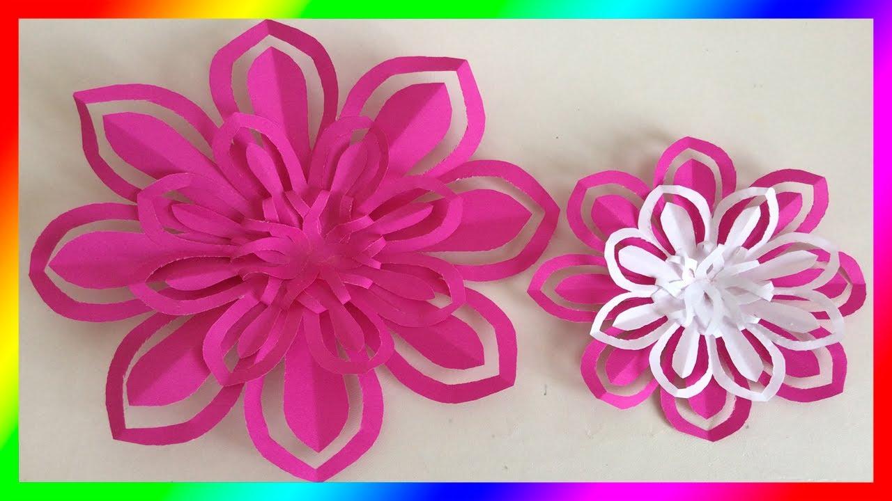 Flores flores de papel paper flowers manualidades de - Manualidades de papel ...