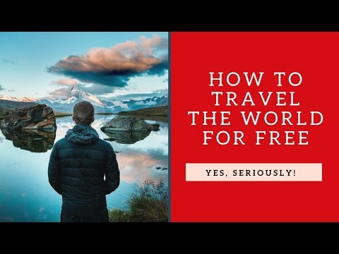 How to Travel Abroad for Free (#4 Will Surprise You) - Free Travel Ideas