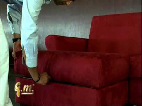 Диван-кровать Авентура из проекта Жостовская Рапсодия - YouTube