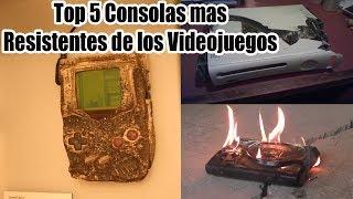 Top 5 Consolas Mas Resistentes de los Videojuegos