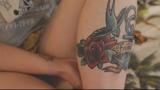 One of Vloggery's most viewed videos: My tattoos (+pain ratings)