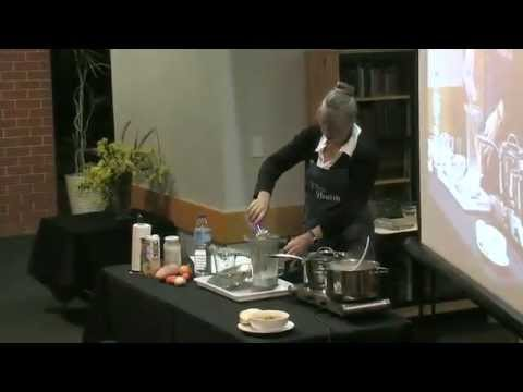 Elim Health Live Vegetarian cooking demo Part two 18-5-15