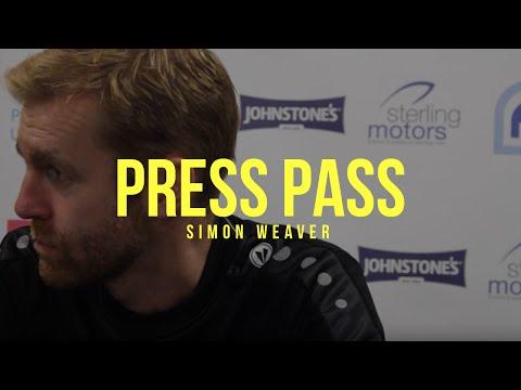 PRESS PASS   Simon Weaver Post Boston United
