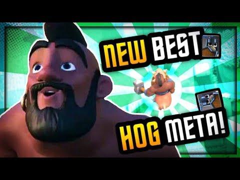"BEST UPDATED ""NEW META"" HOG DECK :: #1 GLOBAL DECK"