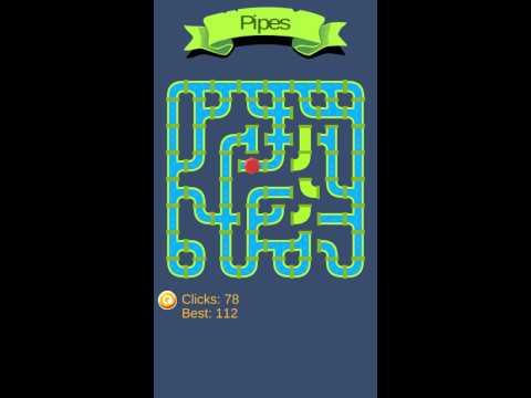 Pipe, Pipes and Plumber the logic Android game.