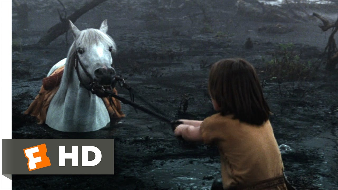 Boy And Girl Wallpaper With Quotes The Neverending Story 2 10 Movie Clip Artax And The
