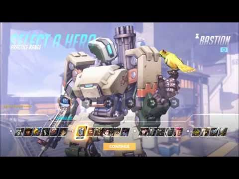 Overwatch Character   Bastion