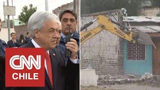 """Presidente Piñera dio inicio al plan """"La Legua Sin Muros"""