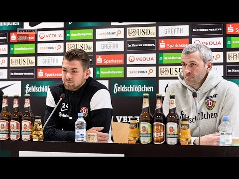 27. Spieltag | SSV - SGD | Pressekonferenz vor dem Spiel