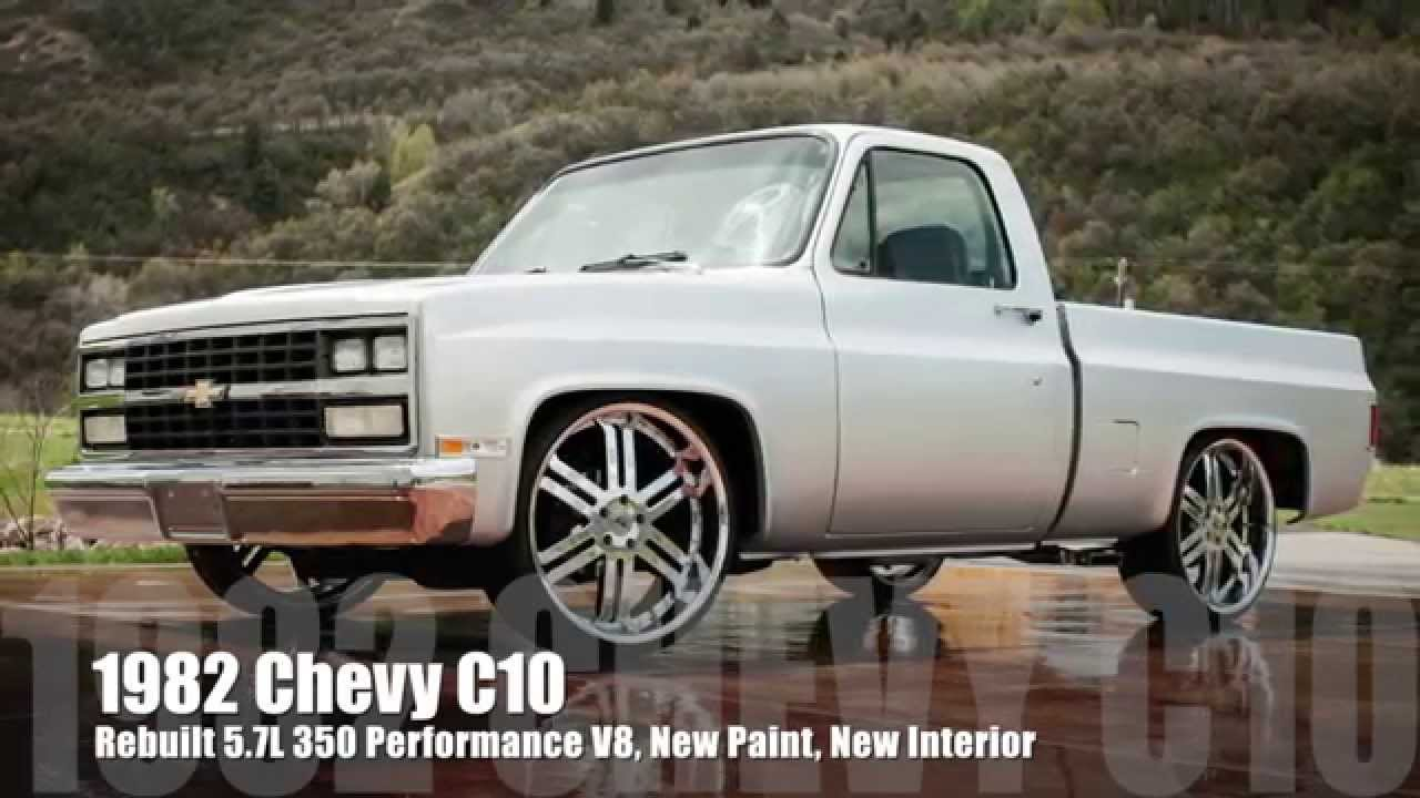 small resolution of 1982 chevy c10 short bed hot rod shop truck 5 7l 350 v8 700r4 tranny new paint interior youtube