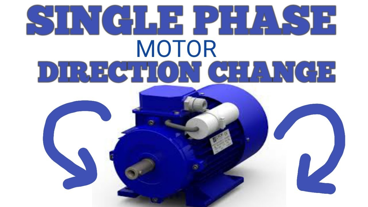 brook crompton wiring diagram how to change single phase motor direction youtube  change single phase motor direction