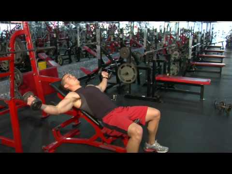How to Do an Incline Dumbbell Fly
