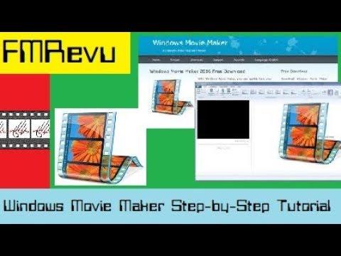 2018 Step Step Tutorial Windows 10 Movie Maker  Cut, edit, merge, & trim clips Add music & text