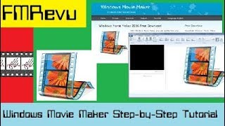 2018 Step-by -Step Tutorial Windows 10 Movie Maker | Cut, edit, merge, & trim clips Add music & text