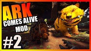 ARK Survival Evolved - NEW BASE, ALPHA DIRE BEAR & HARVEST DOEDICURUS TAME (ARK Comes Alive Mod)