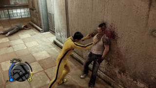 Sleeping Dogs: Definitive Edition Martial Arts Fight Club Gameplay With Bruce Lee Outfit