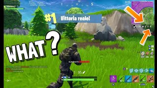 An VITTORIA Reale ASSURDAA with 6 KILL!! - COMPLETELY AT CASE! 😂 - Fortnite ITA