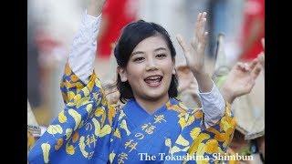 女優の千眼美子(清水富美加)さんが、8月12日に開幕した徳島市の阿波...