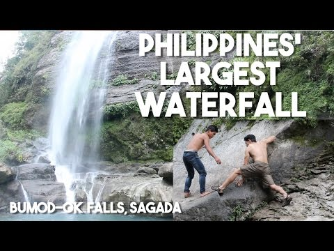 We Found the LARGEST WATERFALL in the PHILIPPINES (Bumod-Ok Falls, Sagada)