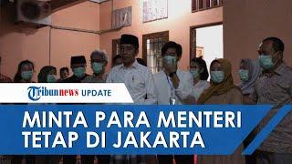 Presiden Joko Widodo (Jokowi) menggelar jumpa pers terkait meninggalnya sang ibunda, Sujiatmi Notomi.